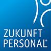 Elisabeth Pine auf der Zukunft Personal - Logo